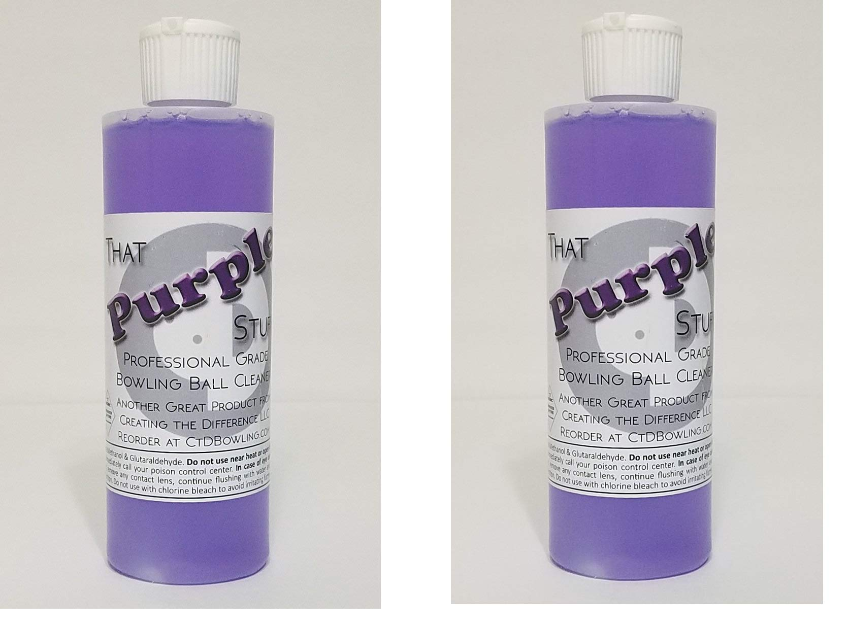 Creating the Difference That Purple Stuff Bowling Ball Cleaner | 8 oz Bottle (2-Pack)