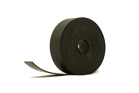 Amazon Com Solid Neoprene Black Rubber Strip 1 Wide X 3 64 Thick X 16 Feet Long Industrial Scientific