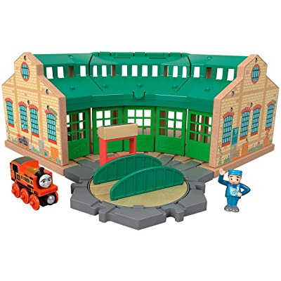 Fisher-Price Thomas & Friends Wood, Tidmouth Sheds: Toys & Games
