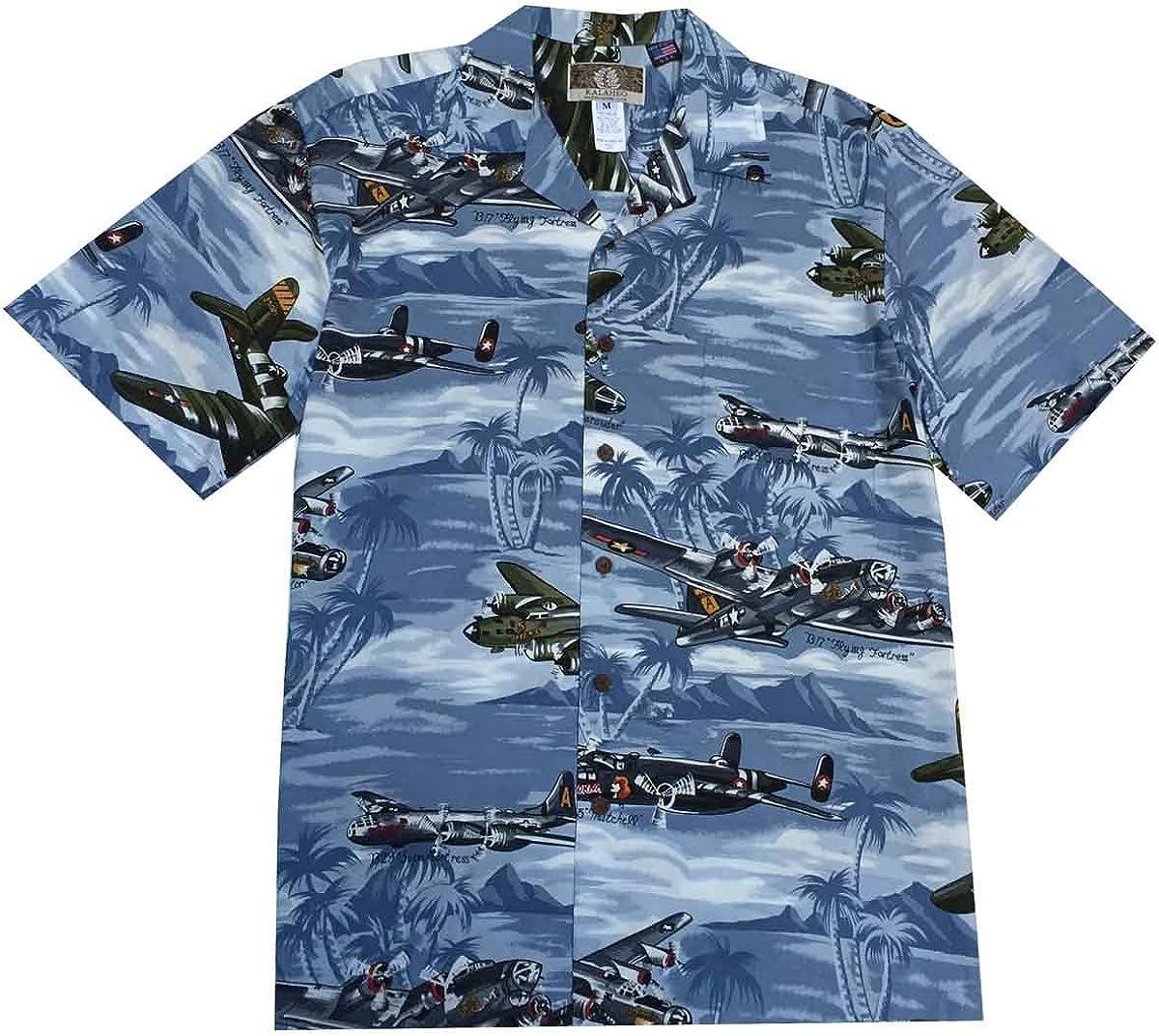 Kalaheo Mens B Bomber Hawaiian Shirt