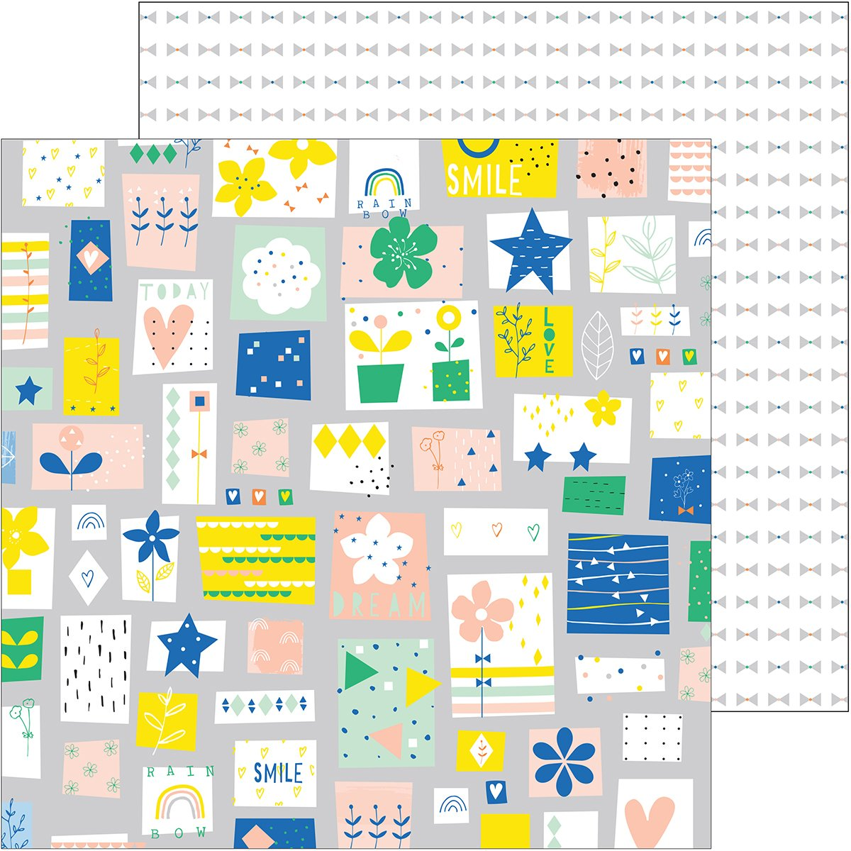 Dream On Double-Sided Cardstock 12''X12''-Fancy - Case Pack of 25