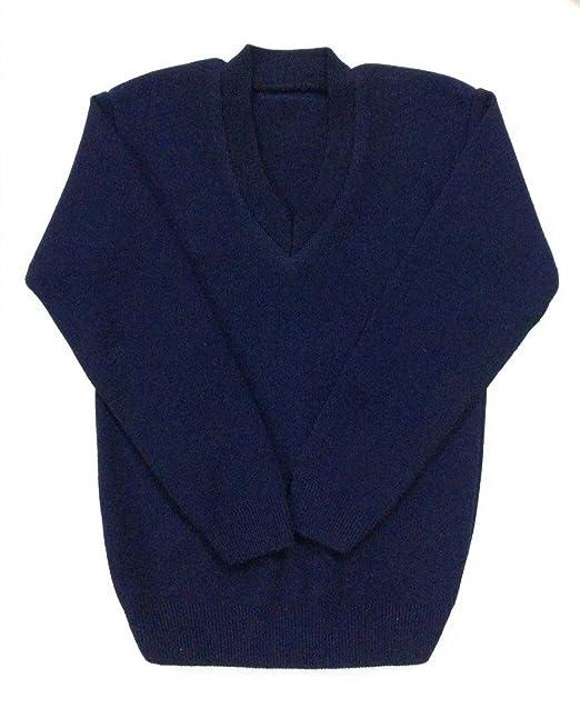Ashish Oswal Navy Blue School Uniform V Neck Sweater Amazonin