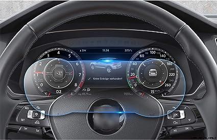 """2x VOLKSWAGEN PASSAT b8 2017 Active info chockpit 12.3/"""" Pellicola Protezione Display"""