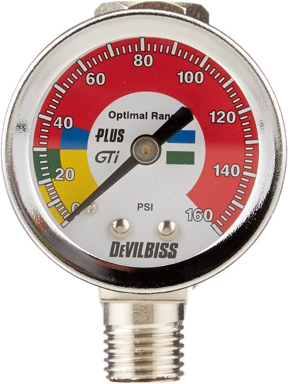 DEVILBISS AUTOMOTIVE REFINISHING AIR REGULATOR W// DIGITAL GAUGE