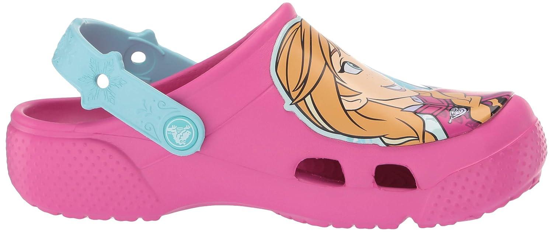 e4cffb79eae Amazon.com | Crocs Kids' Boys and Girls Frozen Anna and Elsa Clog | Mules &  Clogs