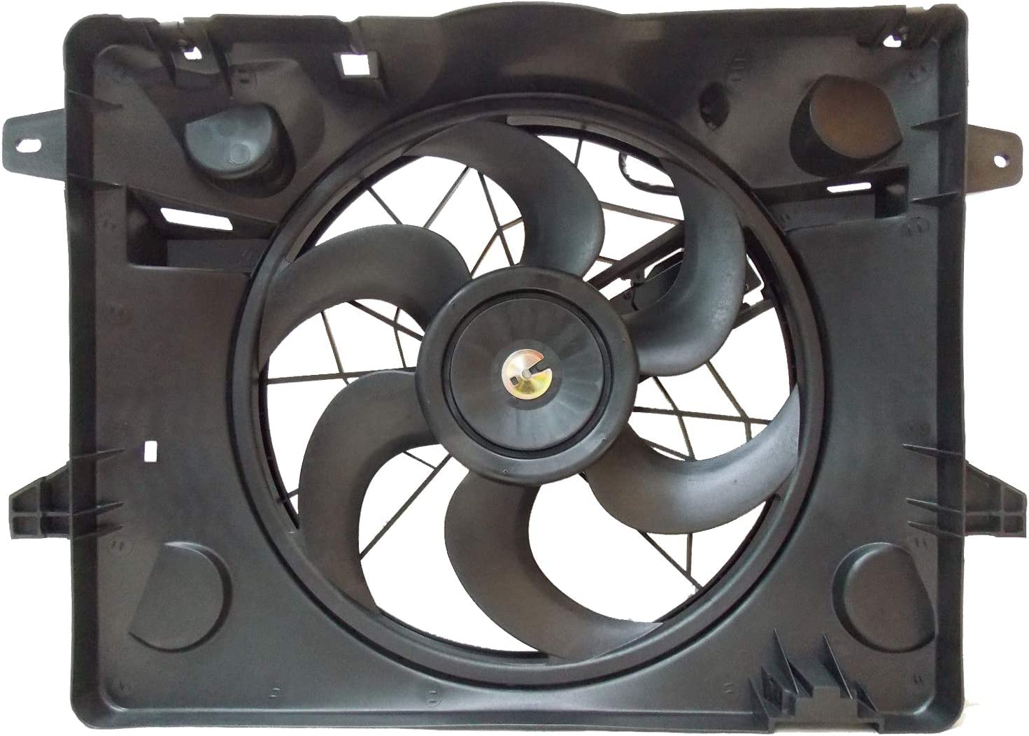Sunbelt Radiator And Condenser Fan For Ford Crown Victoria Lincoln Town Car FO3115149 Drop in Fitment