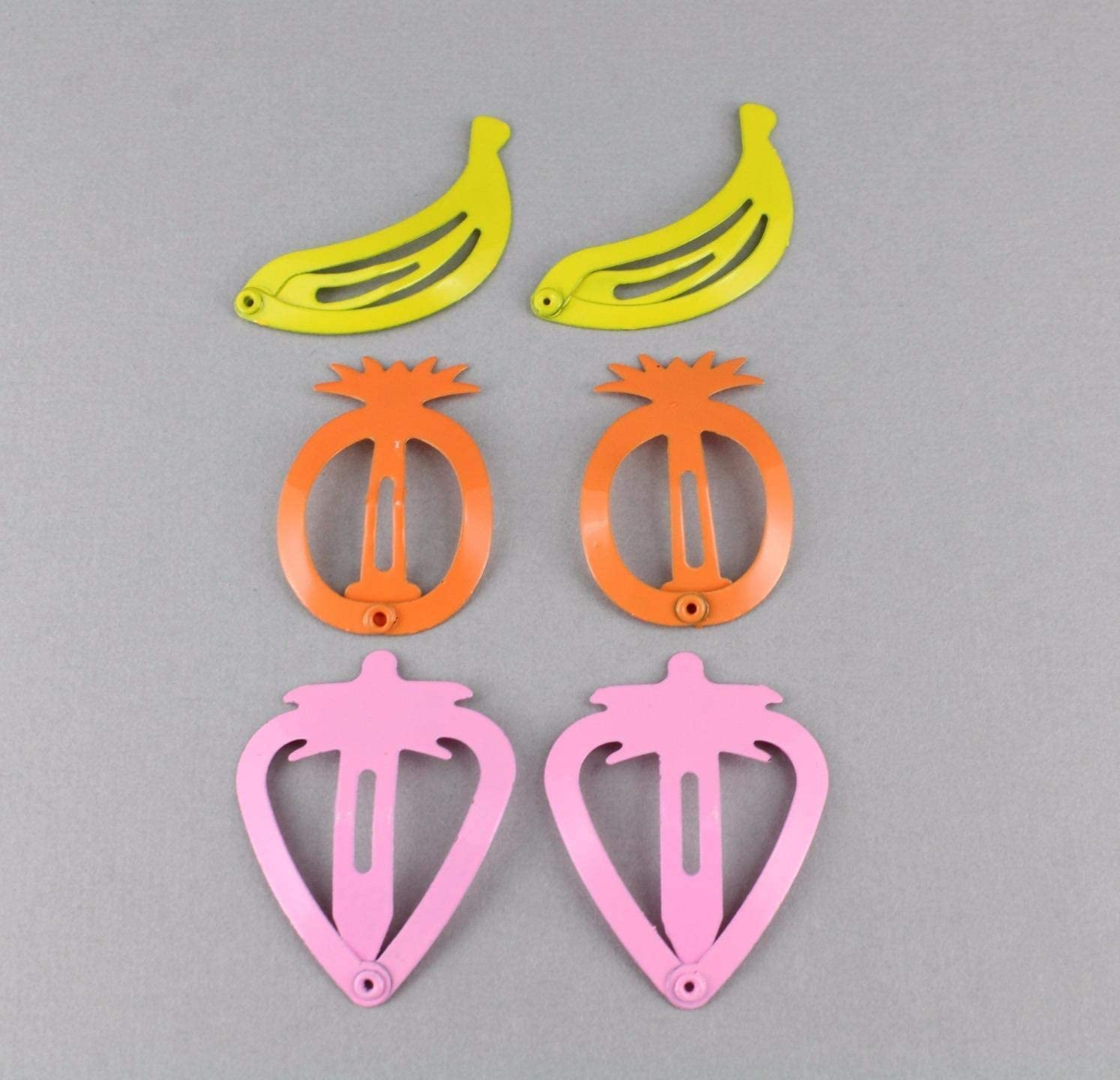 Details about  /Acrylic Metal Hair Clip Pineapple Women Bobby Pin Barrette Girl Headwear Fashion