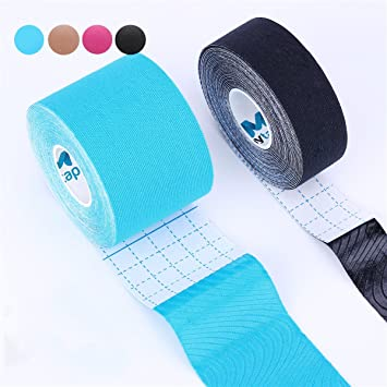 arrive vraiment pas cher vif et grand en style Kinesiology Tape Pro, Muscle Support Adhesive, Physio Therapeutic Recovery  Sports Athletic Aid,...