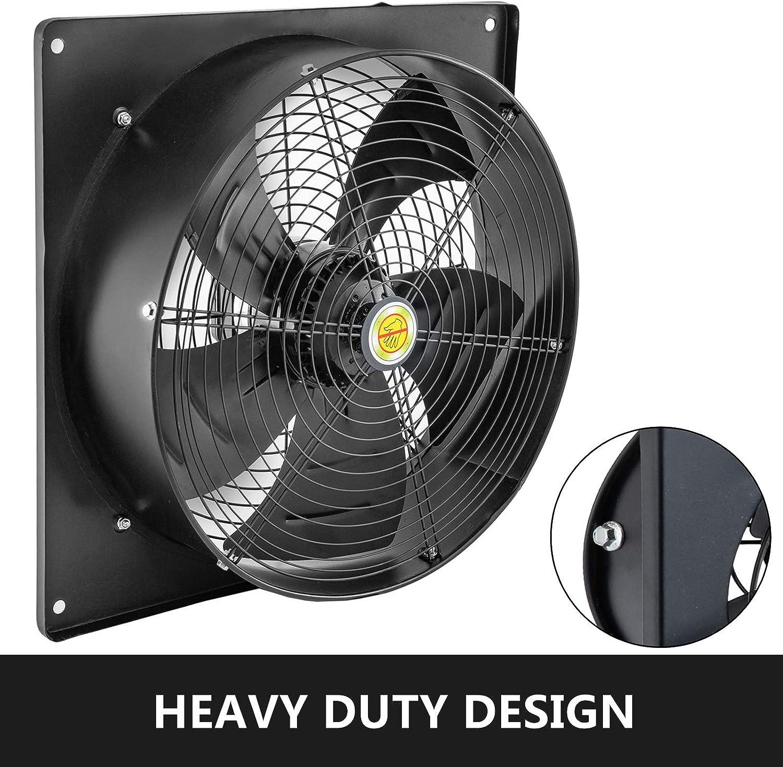 Mophorn Ventilador Axial Ventilador Industrial Extractor Extractor de Ventilación Ventilador de Escape con Controlador de Velocidad: Amazon.es: Bricolaje y herramientas