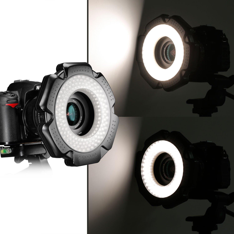 Neewer® R-160 160 Pieces 5600K 10W Mini LED Macro Ring...