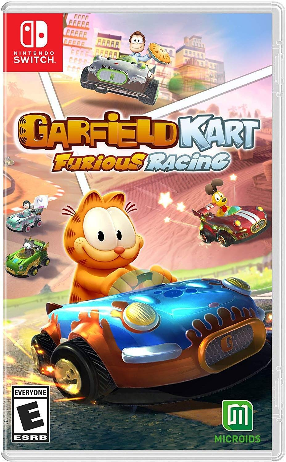 Garfield Kart: Furious Racing for Nintendo Switch USA: Amazon.es ...