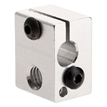 Amazon.com: dophee aluminio Impresora 3d calentador bloque ...