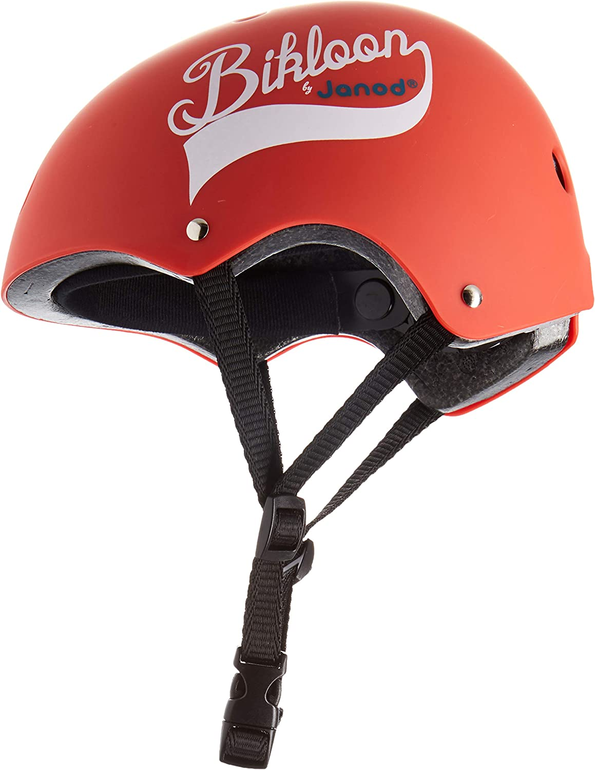 PC Ages 3-6 Years + Ventilation and Adjustment Bikloon Bicycle Accessories EPS Toddler Polycarbonate Polyurethane Youth Adjustable Head Size PE Child Janod Red Balance Bike Helmet