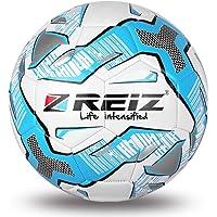 Sunnyflowk REIZ - Balón de fútbol de poliuretano, tamaño oficial, 5 balón de fútbol, diseño decorativo, para exteriores…