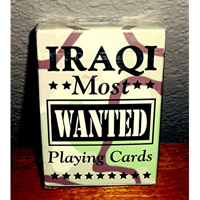 Bicycle Iraqi Most Wanted Playing Cards: Toys & Games