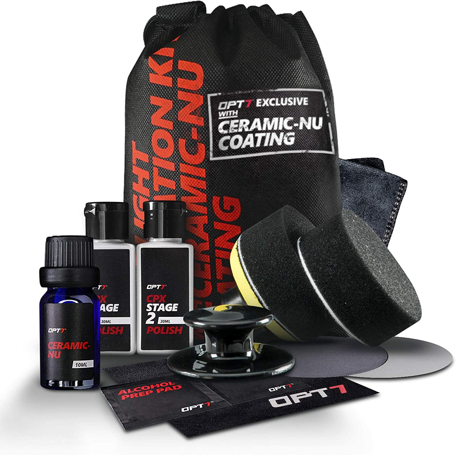 OPT7 Headlight Restoration Kit with Ceramic Nu Coating