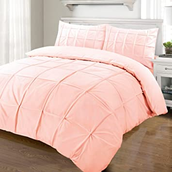 nimsay home cartier parure de lit avec housse de couette 100 coton percale - Parure De Lit Rose Poudre