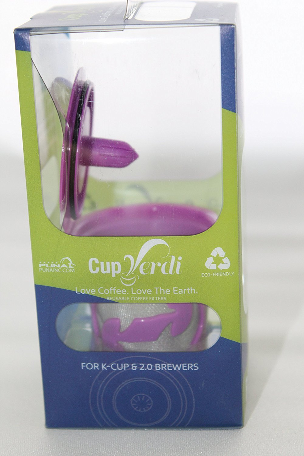 Cup Verde® Refillable 2.0 K-Cup For Keurig Brewers Reusable Coffee Filter Works In 2.0 Keurig Machine