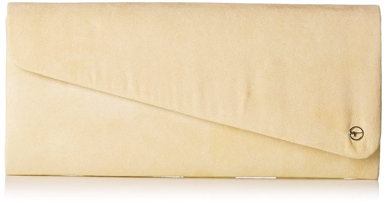 Tamaris Damen Veva Clutch, 13.0x5.0x26.0 cm Beige (Nude) 2762182