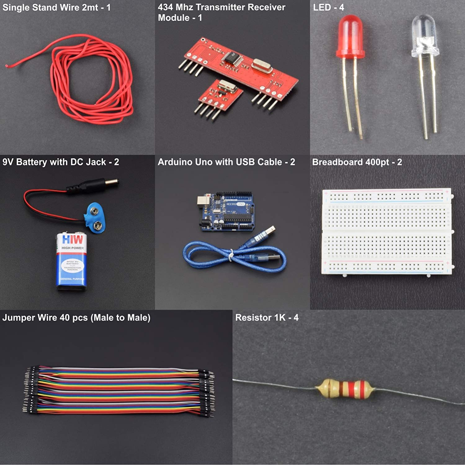 Rees52 Make A Communication Between 434 Mhz Transmitter And Receiver Circuit Module Interfacing With Arduino Uno Step By Manual Kt814