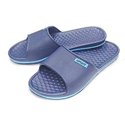 Men's Sport Slip-On Slide Sandals Beach Shoes Flip Flops Slippers Comfort and Style | Mules & Clogs