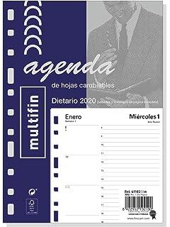 Finocam - Agenda 2020 1 día página Multifin Estudio Negro ...