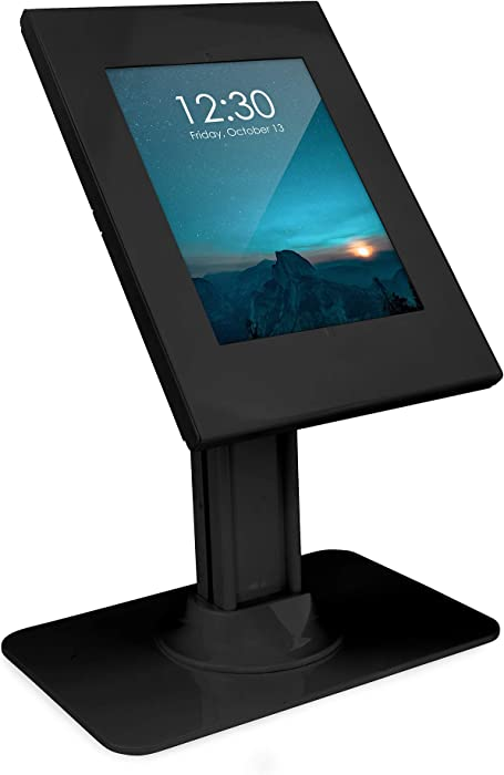 Mount-It! Anti-Theft iPad 7 Kiosk Stand | Secure iPad 10.2 Retail Kiosk | Locking Counter-Top Tablet Stand for 7th Generation iPad 10.2