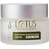 Lotus Professional PhytoRx SPF25 PA+++ Whitening and Brightening Creme, 50g