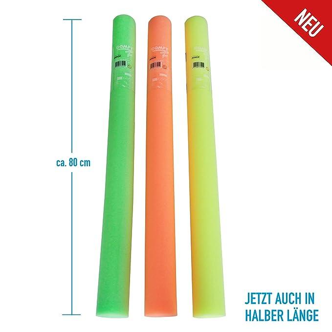 Grevinga® Corta Pasta piscina - - Tubo flotador - neonfarbig - Espada láser - Aprox. 80 cm: Amazon.es: Deportes y aire libre