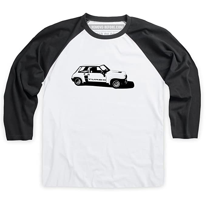 R5 Turbo High-Performance Hatchback Camiseta de bisbol, Para hombre: Amazon.es: Ropa y accesorios