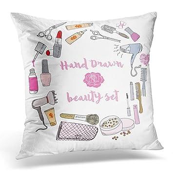 Amazon.com: Funda de almohada Sdamase para dibujar colección ...
