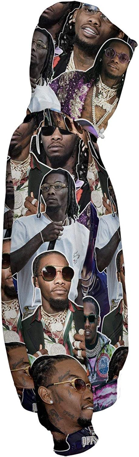 Offset Pullover Hoodie