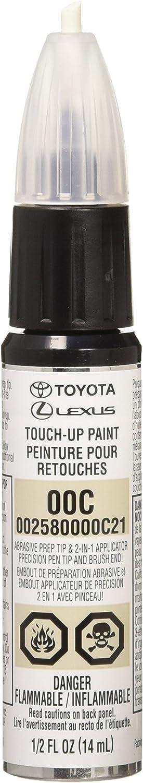 Toyota Genuine 00258-0000C-21 Clear Coat Touch-Up Paint Pen (.5 fl oz, 14 ml)