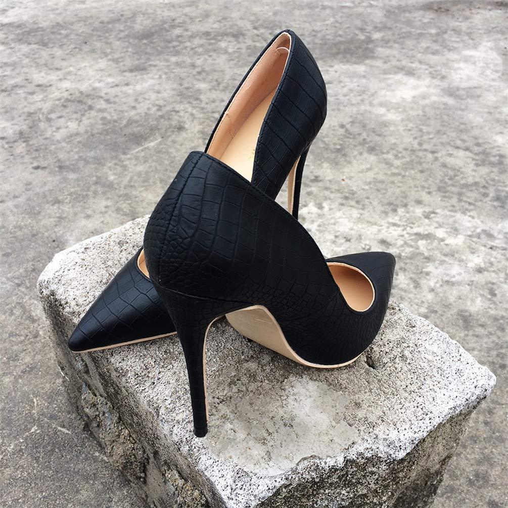 Frauen Classic Stilettos Italien Style High Heels Damen Sexy wies Toe Toe wies Schuhe Comfort Kleid Pumps c48567