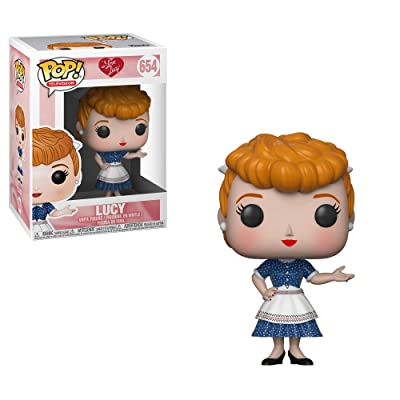 Funko Pop! Tv: I Love Lucy - Lucy Collectible Figure, Multicolor: Toys & Games