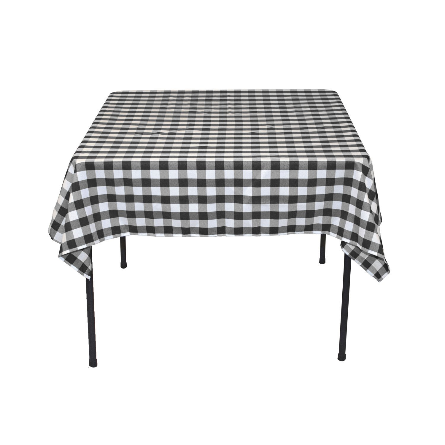 Amazon.com: LinenTablecloth 54 Inch Square Polyester Tablecloth Red U0026 White  Checker: Home U0026 Kitchen