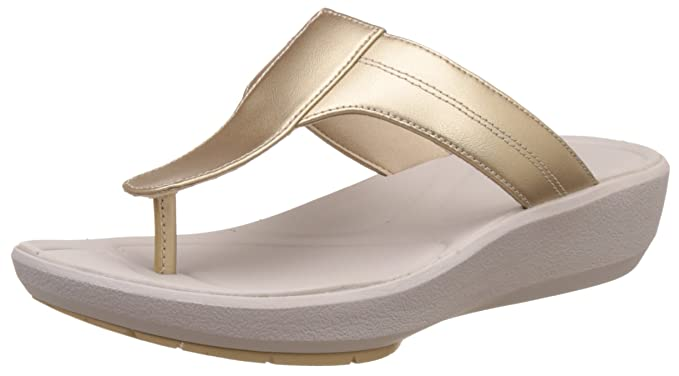 37e9ded01526 Clarks Wave Pop Sandals In Champagne Standard Fit Size 4  Amazon.co ...