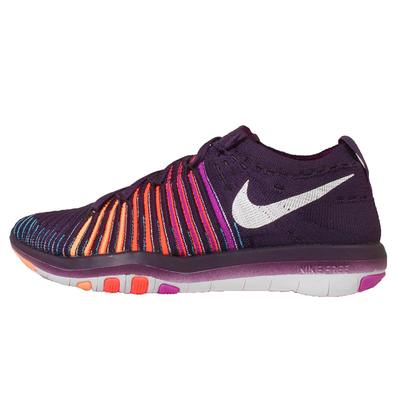 super popular 33ddd 94618 Nike Womens Free Transform Flyknit GRAND PURPLE   WHITE-HYPER VIOLET-TOTAL  CRIMSON