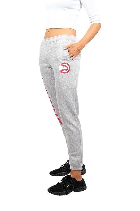 bb9bff1fa NBA Atlanta Hawks Women s Jogger Pants Active Logo Fleece Sweatpants