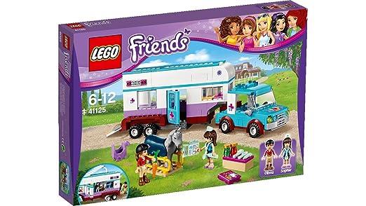 LEGO - 41125 - La Remorque à Chevaux du Vétérin...
