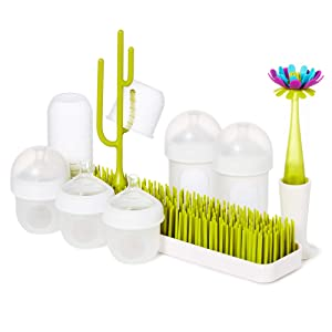 Boon, NURSH Bundle, Starter Set with Bottles, Drying Rack, Brush and Accessories
