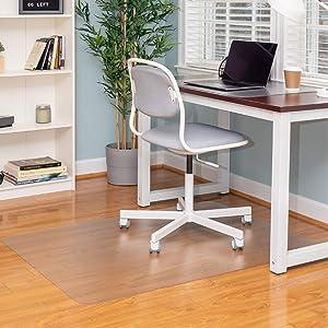 Ilyapa Office Chair Mat for Hard Floors