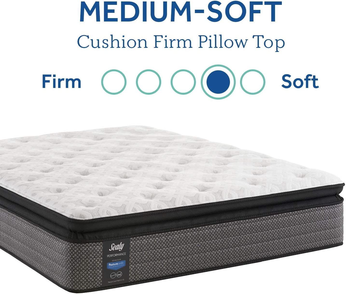 Amazon Com Sealy Response Performance 14 Inch Cushion Firm Pillow Top Mattress King Furniture Decor