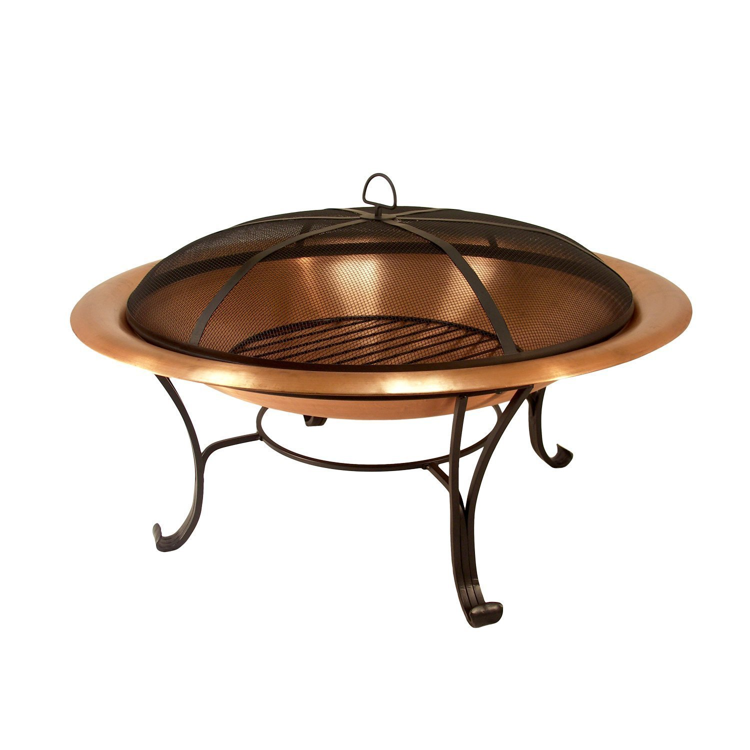 amazon com catalina creations 100 solid copper fire pit with