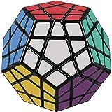 D-FantiX Shengshou Megaminx Speed Cube 3x3 Dodecahedron Puzzle Toy Black