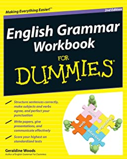 amazon com writing essays for dummies mary page  english grammar workbook for dummies