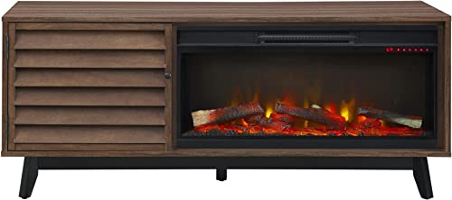 Ameriwood Home Vaughn Electric Fireplace TV Stand