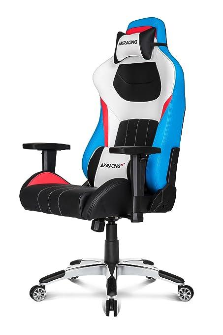 Gaming Blaurotweißschwarz Akracing Stuhl Premium Style 0NnwP8OkX