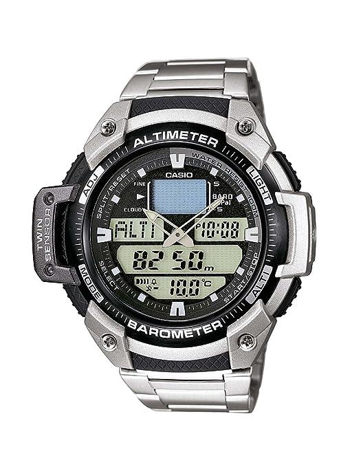 290 opinioni per Casio SGW-400HD-1B Orologio Analogico Digitale da Polso da Uomo, Acciaio Inox,