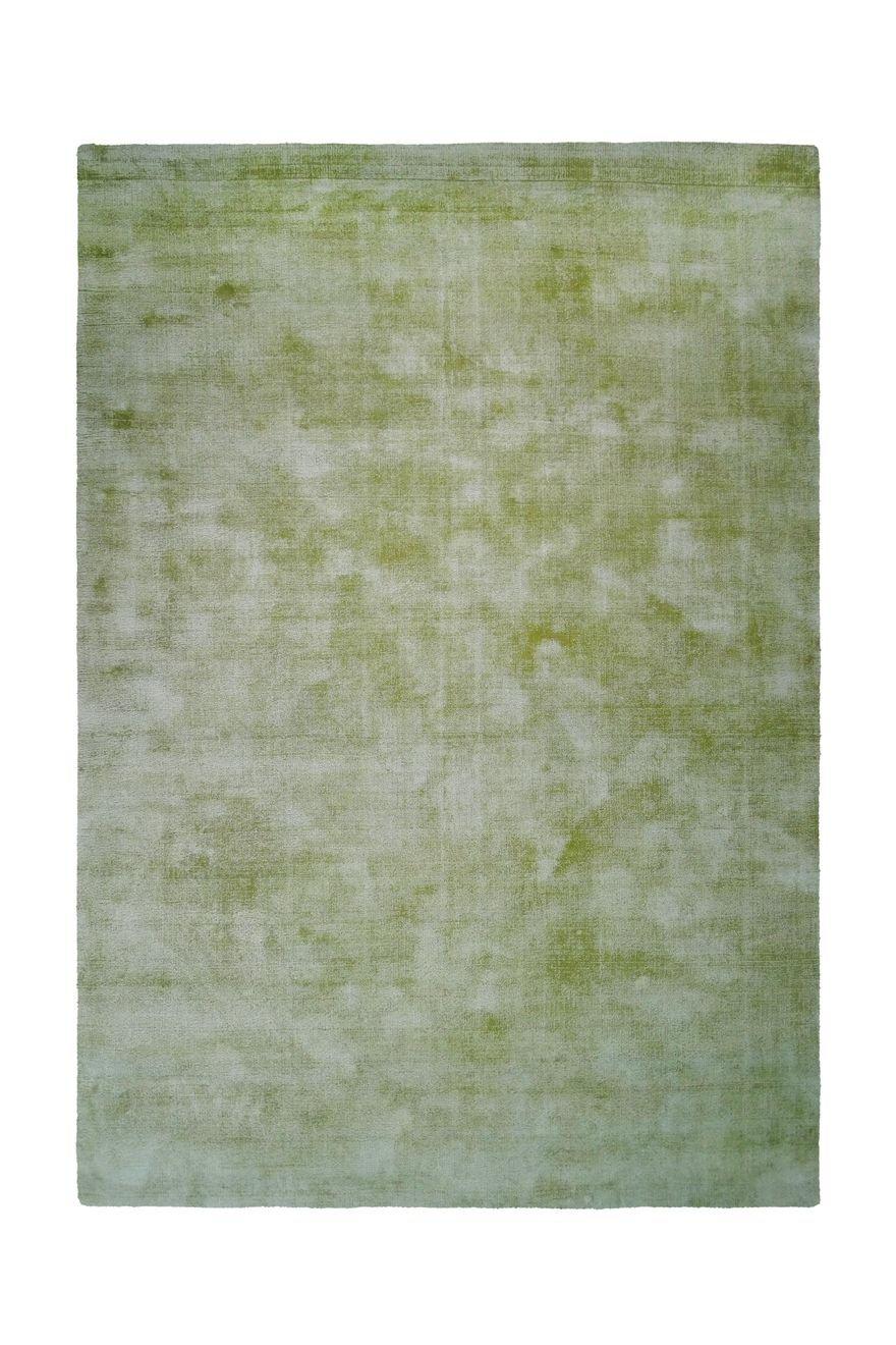 Teppich Wohnzimmer Carpet Modern Design Luxury 110 Rug Unifarbe Muster Viskose 200x290 cm Grün/Teppiche günstig online kaufen
